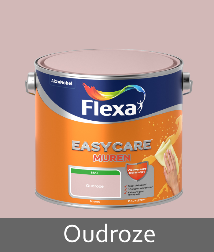 Flexa-easycare-muren-oudroze