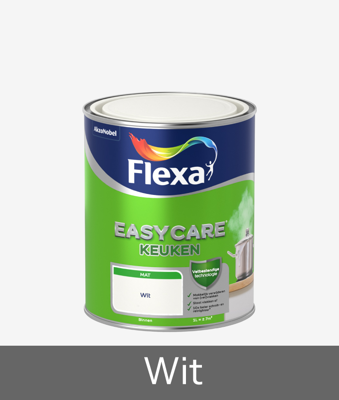 Flexa-easycare-keuken-wit