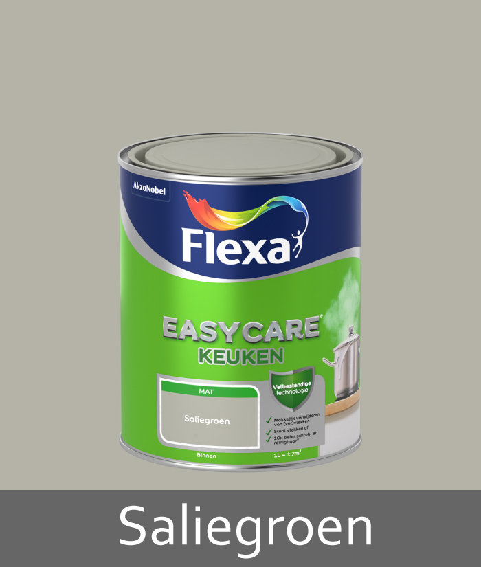Flexa-easycare-keuken-saliegroen