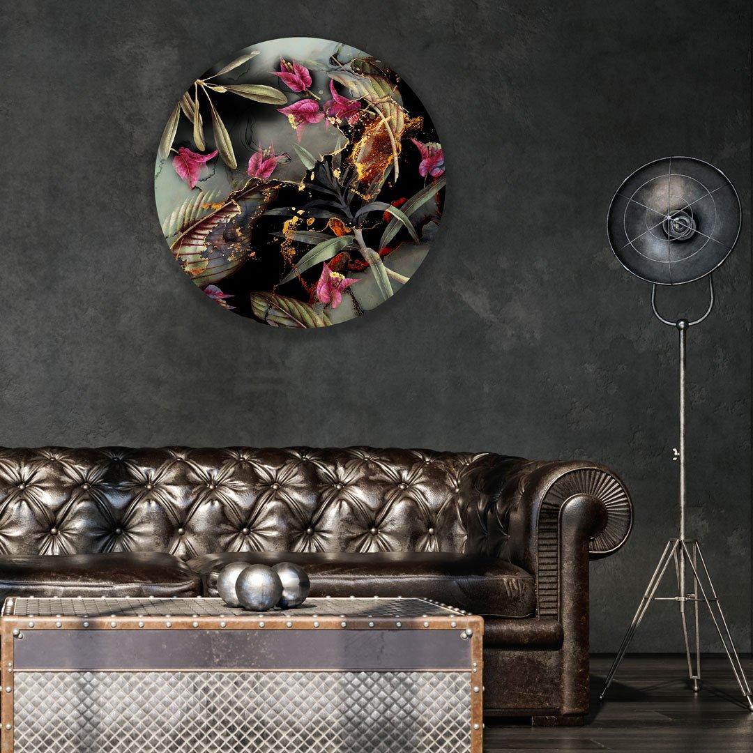 Ella wallpaper circle
