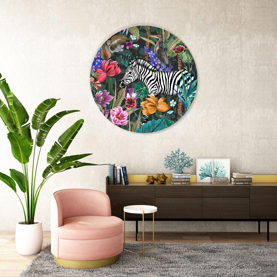 jungle fever wall circle